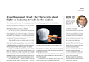 Al Halabi Article is Featuring in Caterer Magazine